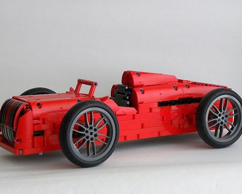 Lego Technic Red Road Racer SBrick