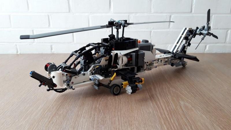 Lego Technic AH-77 Hunter helicopter