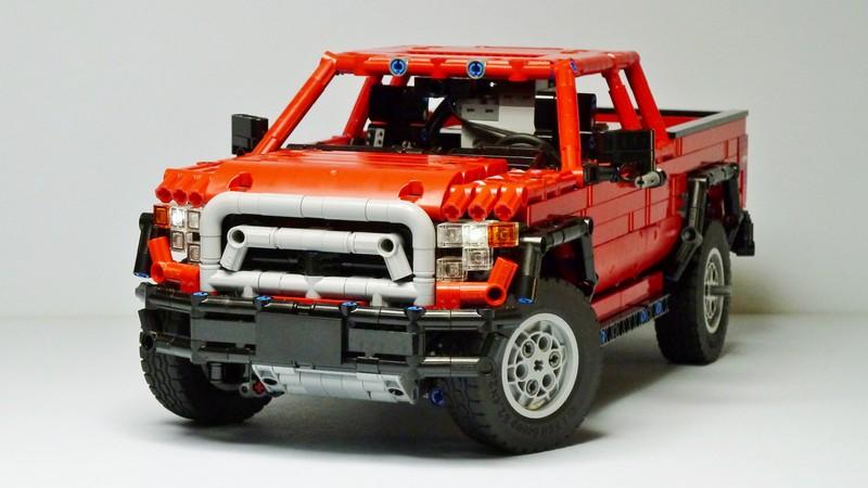 Lego Technic Dacoma 4×4 Redux