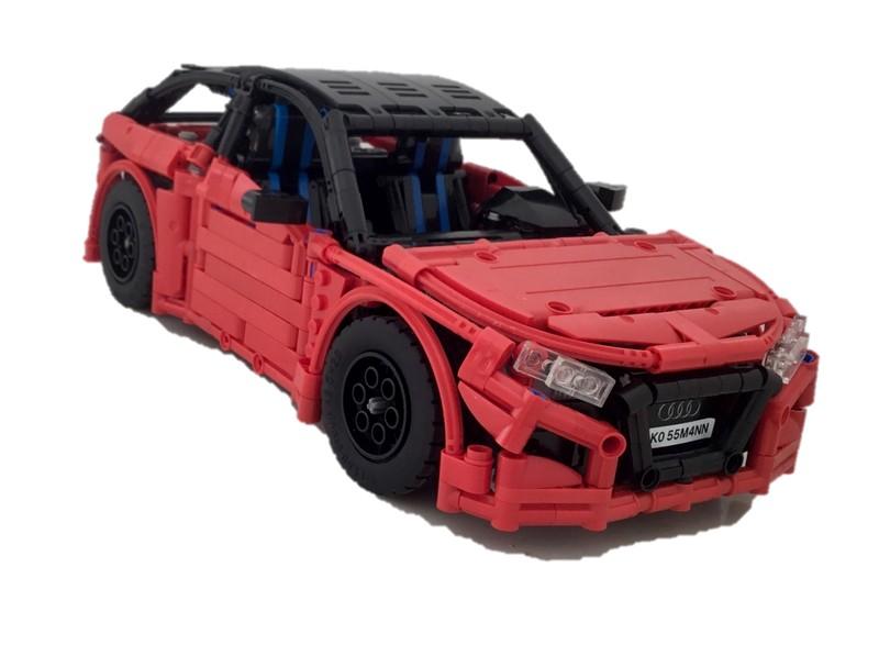Lego Technic Audi RS1 MOC