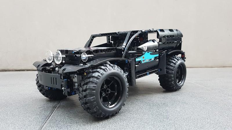 Lego Technic – SUV Racer Modified RC with Sbrick