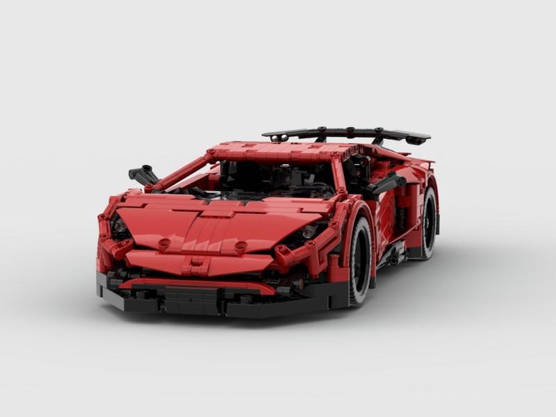 Lego Technic RC Lamborghini Aventador SV