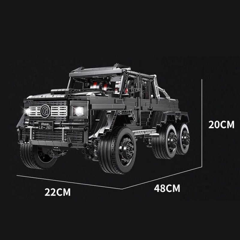 Lego Technic Mercedes Benz G63 6X6 Pickup
