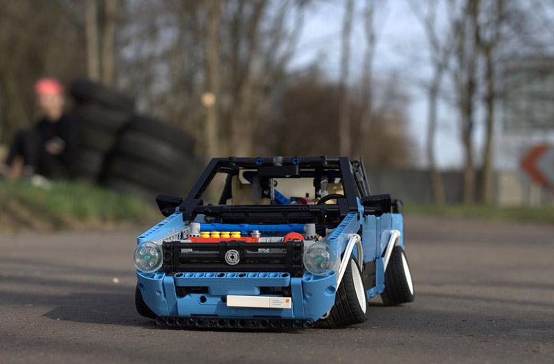 Lego Technic VW Caddy MK1 Showcar