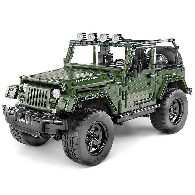 Lego Tecnic Jeep Wrangler Adventure MK (13124)