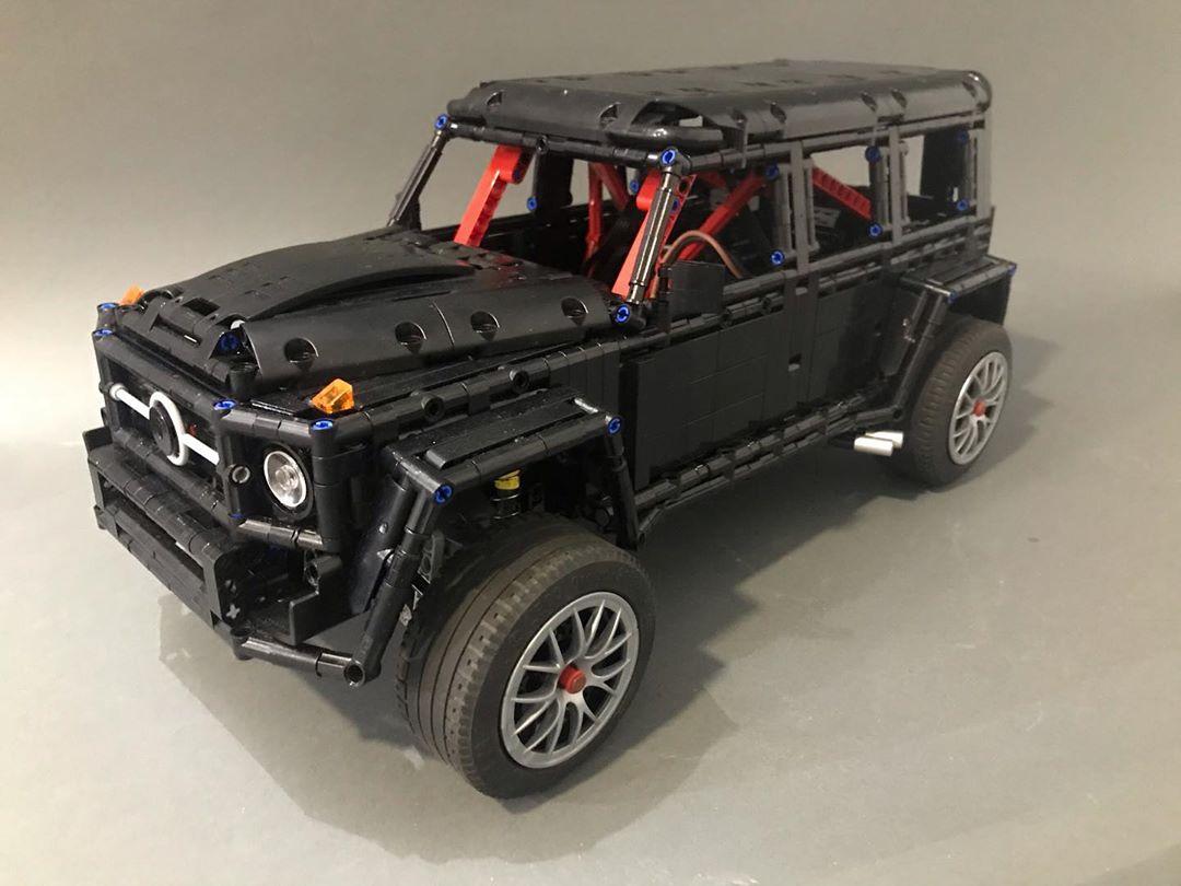 Lego Technic Mercedes Gelandewagen Brabus 1000