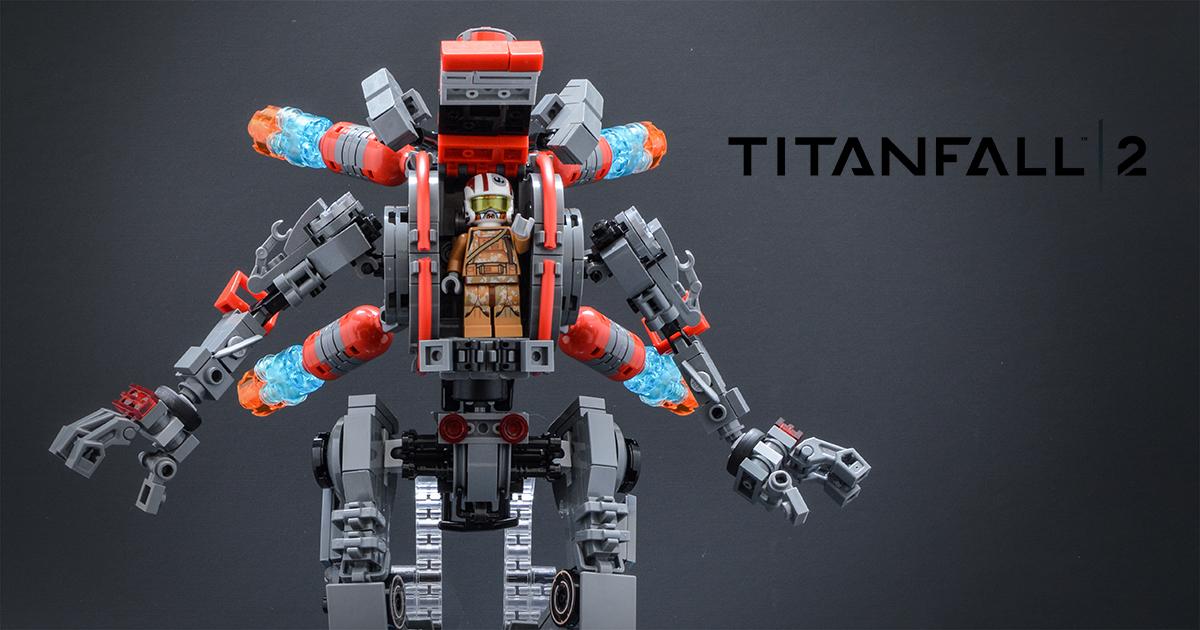 LEGO Titanfall 2 Viper's Northstar Titan