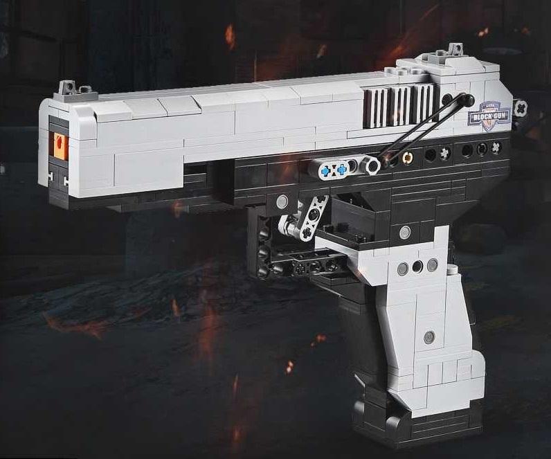 CaDA MK23 Pistol Block Gun
