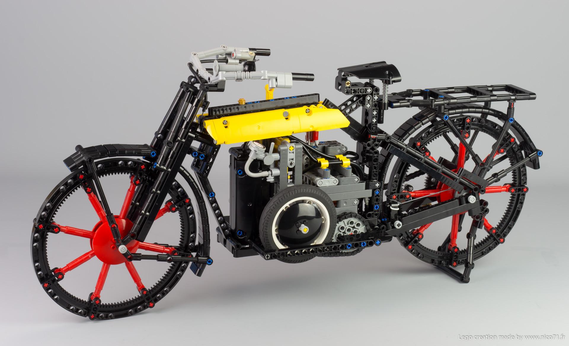 Паровой велосипед – новая поделка от NICO71.