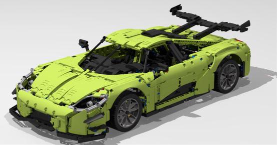 LegoTechnic Koenigsegg One MOD