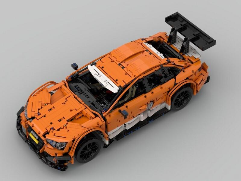 Lego Technic Audi RS5 DTM RC